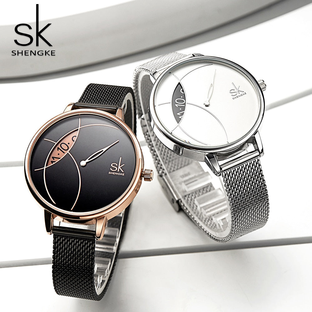 SK™ Turntable Ladies Watch