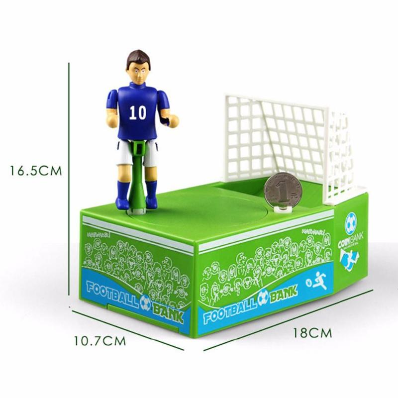 Soccer Rocker Coin Bank - Score a Goal Each Time You Save!