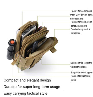 Universal Zipper Phone Pouch For All Mobile Phones