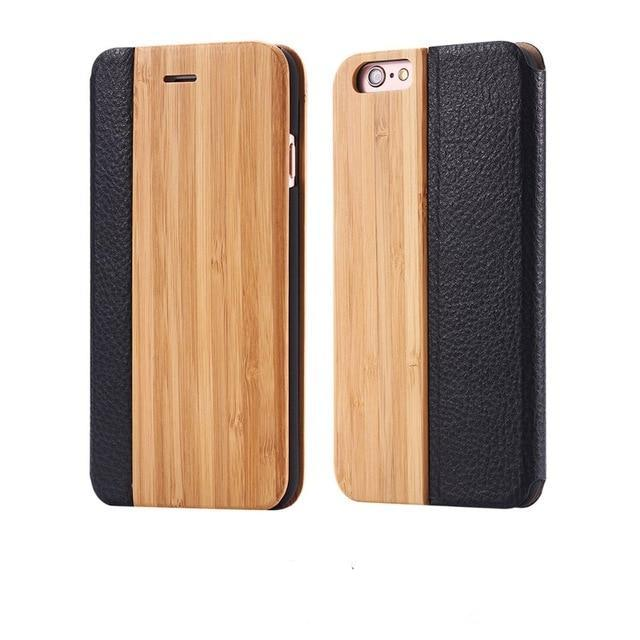 Natural Wood Phone Case for iPhone