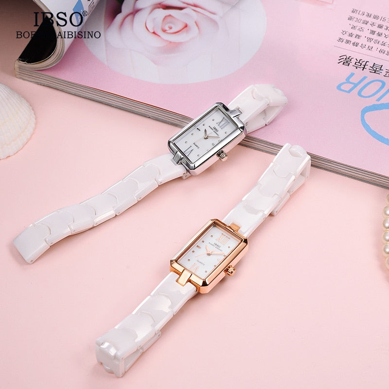 IBSO™ Modern Ceramic Ladies Watch