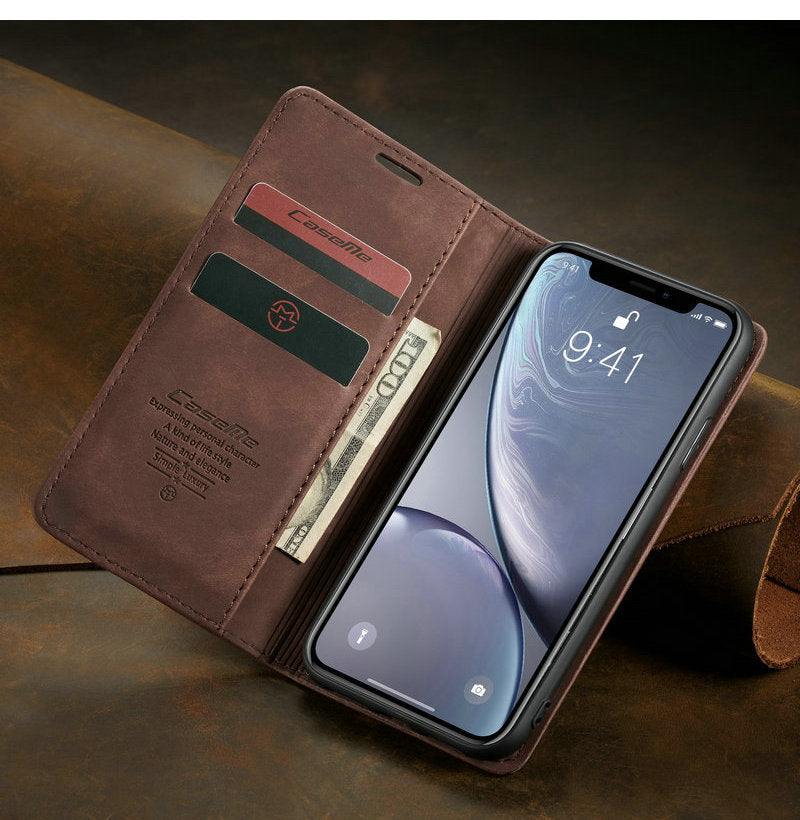 Luxury Flip Phone Case for iPhone