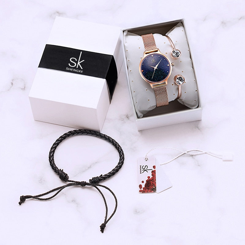 SK™ Starlight Ladies Watch and Bracelets Set