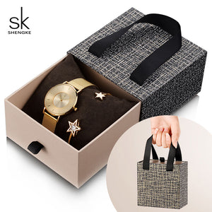 SK™ Celestial Ladies Watch and Bracelet Set (6 Styles)