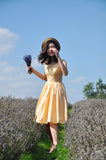 Yellow Gingham Piper Dress