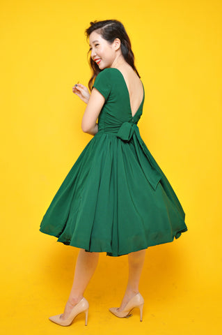 Ah Keow Swing Dress In Mint