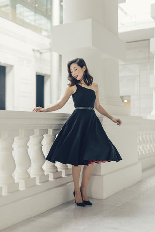 Diana Swing Dress in Black