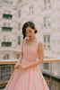 Florence Swing Dress in Millennial Pink