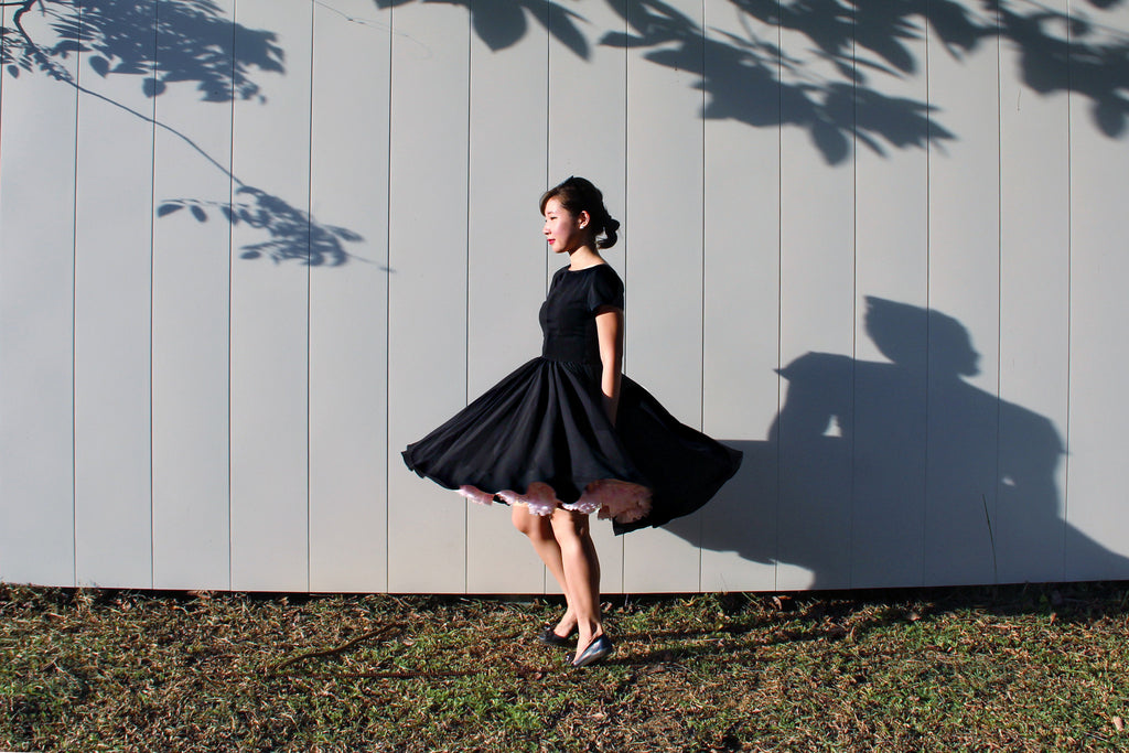 Lulu Belle Dress in Black