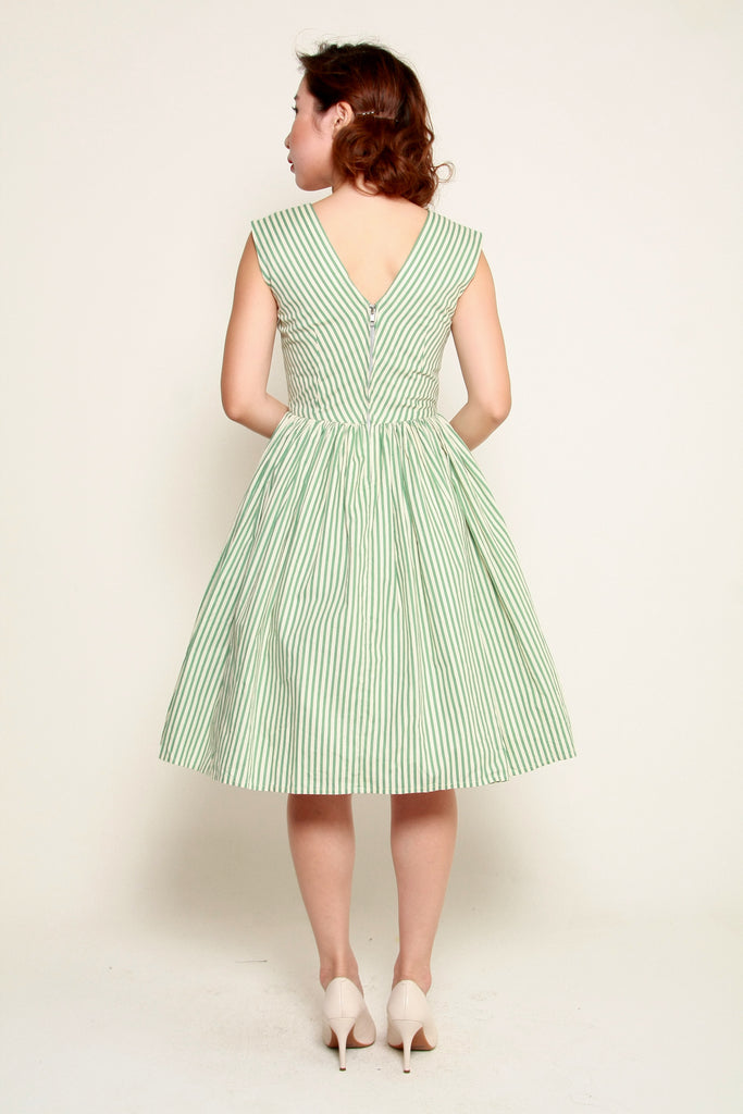 Kelly Swing Dress In Mint