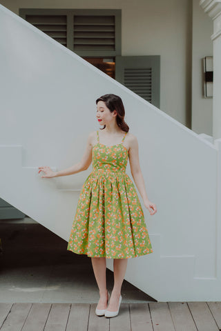 Summer Banana Dress