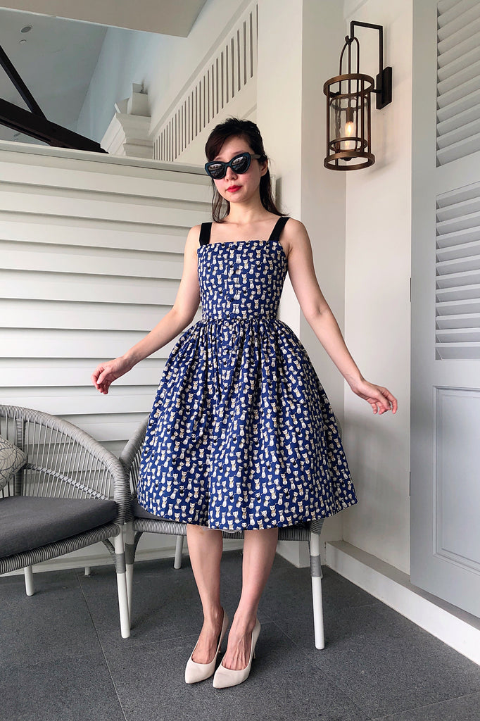 Dolce Blue Neko Dress