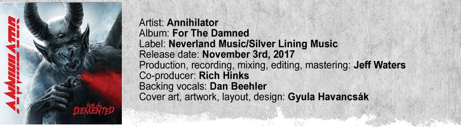 Annihilator - For The Demented REVIEW