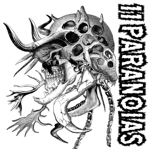 11PARANOIAS - Superunnatural CD DIGIPACK