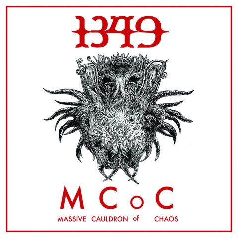 1349 - Massive Cauldron Of Chaos VINYL 12""