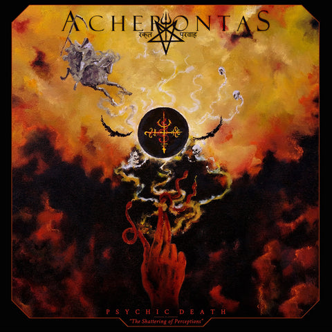 "Acherontas - Psychic Death ""The Shattering Of Perceptions"" CD DIGIPACK"