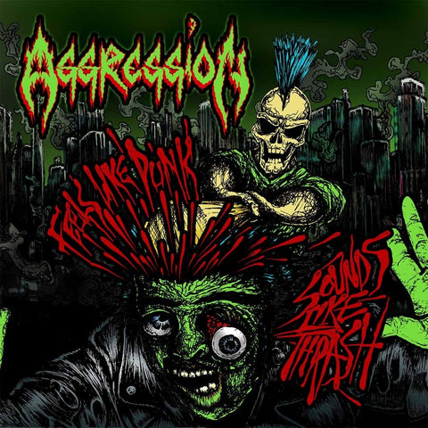 Aggression - Feels Like Punk, Sounds Like Thrash CD DIGIPACK