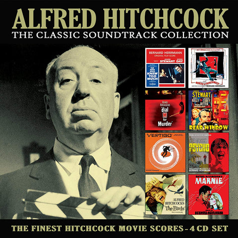 Alfred Hitchcock - The Classic Soundtrack Collection CD BOX