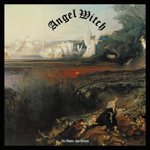 Angel Witch - As Above, So Below CD