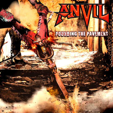 Anvil - Pounding The Pavement CD DIGIPACK