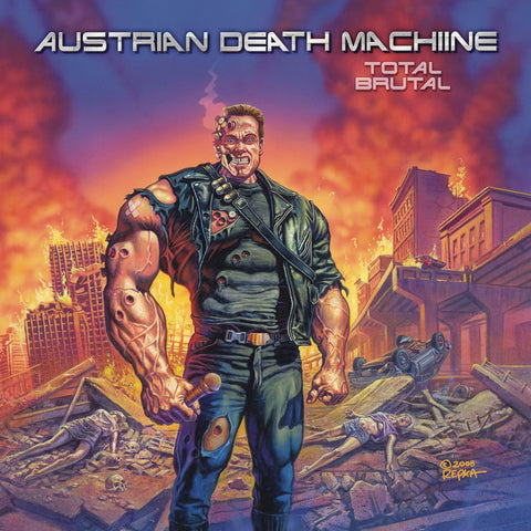 Austrian Death Machine - Total Brutal CD