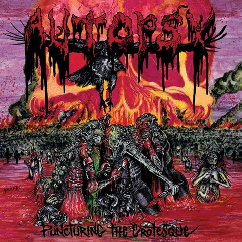 Autopsy - Puncturing The Grotesque VINYL 12""