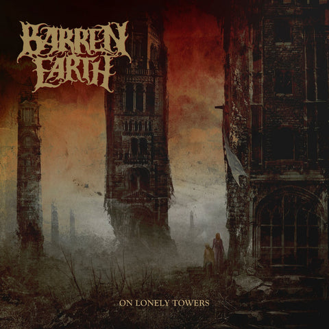 Barren Earth - On Lonely Towers VINYL DOUBLE 12""
