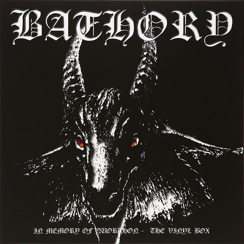 Bathory - In Memory Of Quorthon VINYL BOX 12""