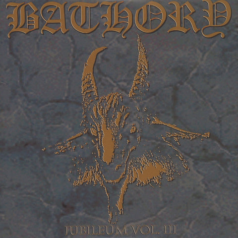 Bathory - Jubileum Volume III CD