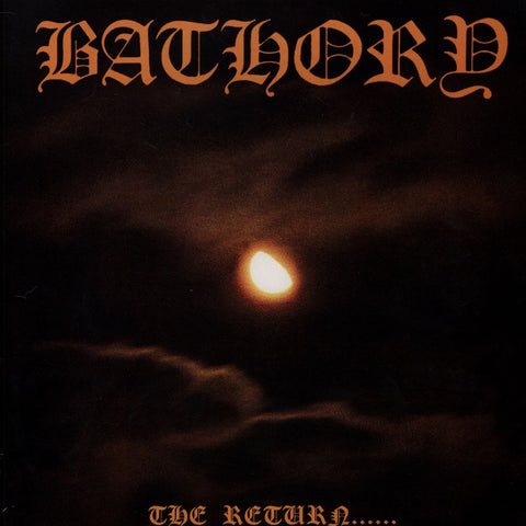 Bathory - The Return…… VINYL 12""