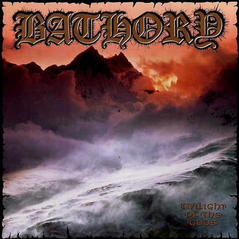 Bathory - Twilight Of The Gods VINYL DOUBLE 12""