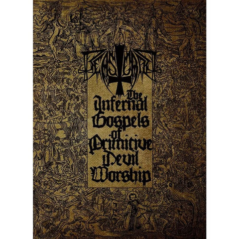Beastcraft - The Infernal Gospels Of Primitive Devil Worship CD/DVD DIGIBOOK