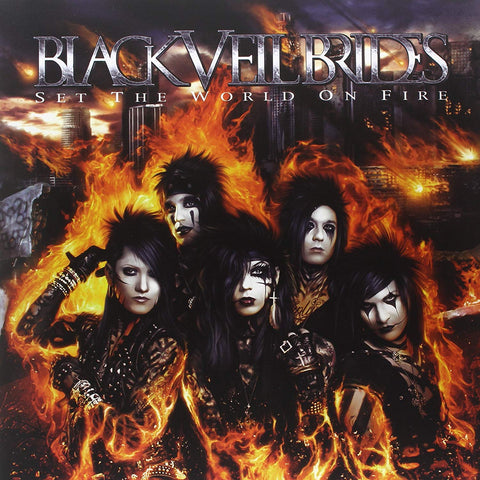 Black Veil Brides - Set The World On Fire CD