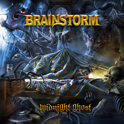 Brainstorm - Midnight Ghost CD/DVD DIGIBOOK