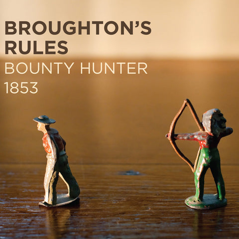 Broughton's Rules - Bounty Hunter 1853 CD DIGIPACK