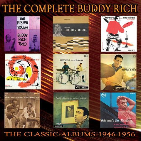 Buddy Rich - The Complete Buddy Rich: The Classic Albums 1946-1956 CD BOX