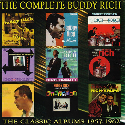 Buddy Rich - The Complete Buddy Rich: The Classic Albums 1957-1962 CD BOX