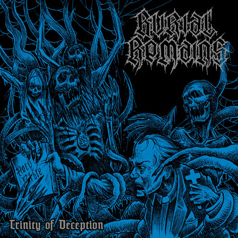 Burial Remains - Trinity Of Deception CD DIGIPACK