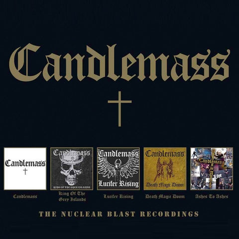Candlemass - The Nuclear Blast Recordings CD BOX