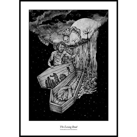 Costin Chioreanu - Dreadful Folktales From The Land Of Nosferatu III LIMITED EDITION PRINT