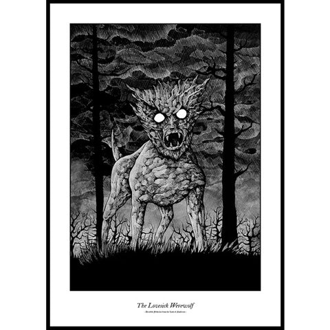 Costin Chioreanu - Dreadful Folktales From The Land Of Nosferatu IV LIMITED EDITION PRINT