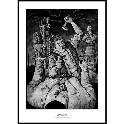 Costin Chioreanu - Dreadful Folktales From The Land Of Nosferatu V LIMITED EDITION PRINT