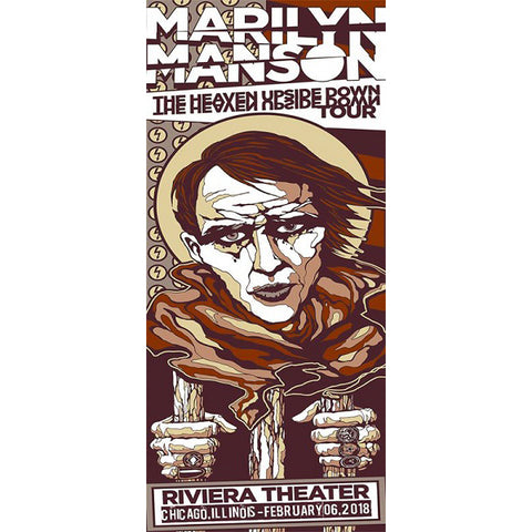 Costin Chioreanu - Marilyn Manson LIMITED EDITION PRINT
