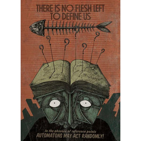 Costin Chioreanu - There Is No Flesh Left To Define Us LIMITED EDITION PRINT
