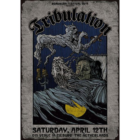 Costin Chioreanu - Tribulation/Roadburn Festival 2014 LIMITED EDITION PRINT