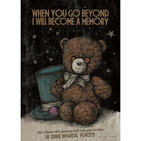 Costin Chioreanu - When You Go Beyond I Will Become A Memory LIMITED EDITION PRINT