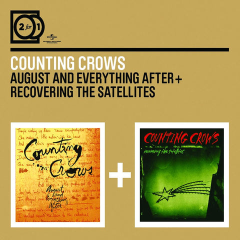 Counting Crows - August And Everything After & Recovering The Satellites CD DOUBLE