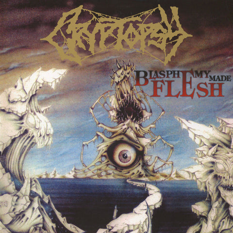 Cryptopsy - Blasphemy Made Flesh CD/DVD DIGIBOOK