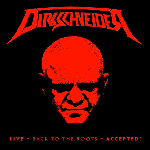 Dirkschneider - Live - Back To The Roots - Accepted! CD DOUBLE/BLU-RAY DIGIPACK