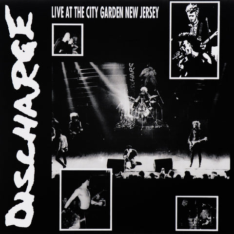 Discharge - Live At The City Garden New Jersey VINYL 12""